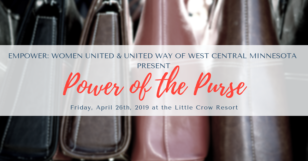 Power Of The Purse United Way Of West Central Minnesota